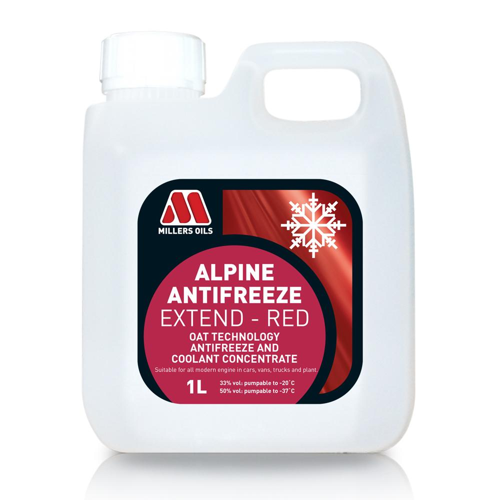 Millers Alpine Red anticongelante (1 litro)
